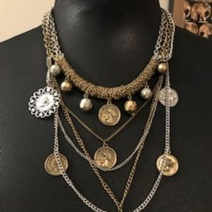 Multichain Coin Necklace